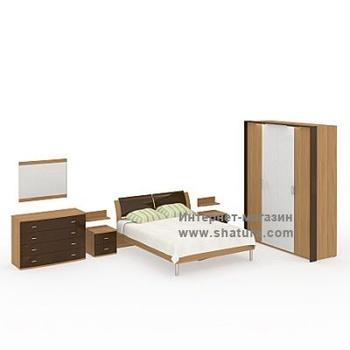 Спальни SCALA бук за 110 600 руб