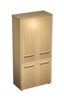 Мебель для персонала Шкаф для документов закрытый 4-дверный за 36 925 руб