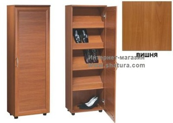 Тумбы для обуви Обувной шкаф Бона-2 (вишня) за 4 490 руб