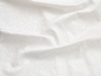 Постельное белье Белое постельное белье «Tencel Орнамент» Семейный за 8 000 руб