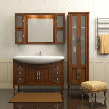 Комплекты Комплект мебели для ванной  МИРАЖ 120 за 54 300 руб