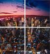 Картины, панно Картина Downtown 60x60см (в наборе 4 шт) за 4800.0 руб