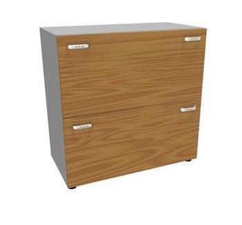Мебель для персонала Шкаф, 2 ящика для файлов за 39 688 руб