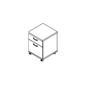 Тумбы Тумба подкатная файловая за 9 312 руб