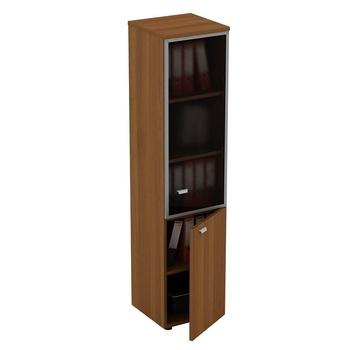 Мебель для персонала Шкаф для документов узкий со стеклянной дверью в рамке правый за 15 880 руб