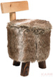 Мягкая мебель Табурет Fur Wood 50см за 4800.0 руб