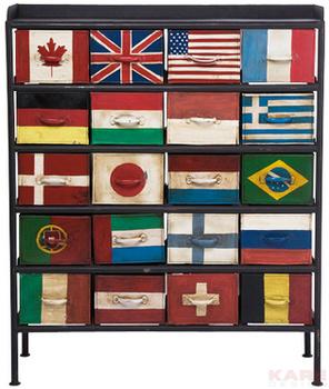Комоды Комод Flags 20 ящиков за 76 400 руб
