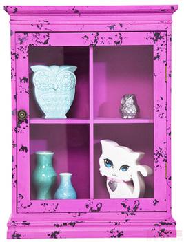 Буфеты и витрины Бар подвесной Little Something, розовый за 7 800 руб