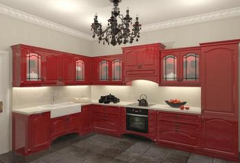 Кухонные гарнитуры Готика за 20 000 руб