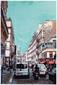Картина Paris District 120x80см