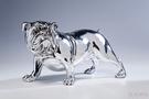 Фигура декоративная Bulldogge 22см, серебристая