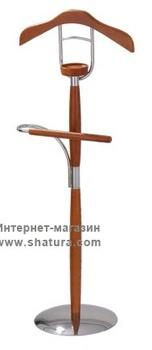 Вешалки Вешалка 5464 металл/дерево вишня за 3 290 руб