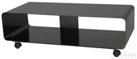 ТВ-тумбы Полка для ТВ Lounge TV Mobil black за 10200.0 руб