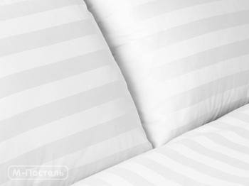 Постельное белье Простынь на резинке «Stripe White» 90х200 за 1 500 руб