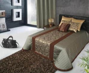 Покрывала Esteves Rabat brown за 13 000 руб