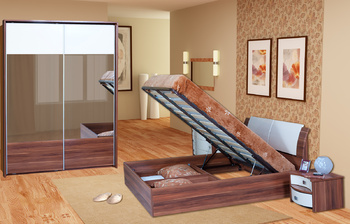 """Кровати Кровать 1400 с подъемным механизмом """"Болеро"""" за 14 200 руб"""
