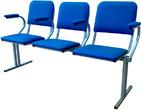 Кресла секционные Секция из 3-х стульев за 3035.0 руб