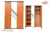 Шкаф платяной 3-х дверный за 7960.0 руб