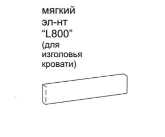 Полки и стеллажи Мягкий элемент за 5 421 руб