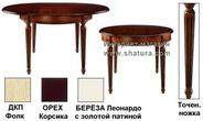 Столы и стулья Столы обеденные за 33290.0 руб