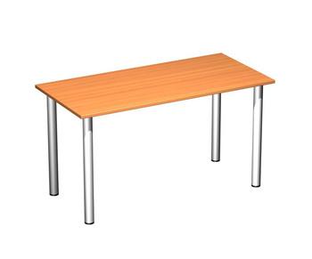 Письменные столы Стол письменный на хромированных опорах за 3 684 руб