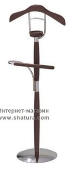 Вешалки Вешалка 5464 металл/дерево кофе за 3 290 руб