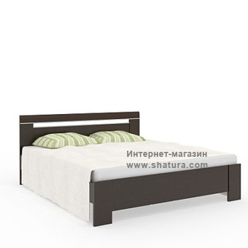 Кровати INTEGRO дуб темный за 15 350 руб