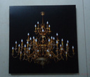 Картины, панно Картина Kronleuchter LED 100x100 см за 5400.0 руб