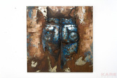 Картины, панно Картина Iron Men 100x100 см за 23200.0 руб