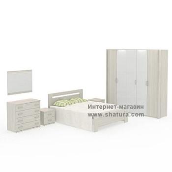 Спальни CAPRI сосна за 75 100 руб