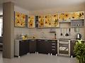 Кухня фотопечать на МДФ