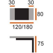 Обеденные столы Стол Napoleon за 15 478 руб