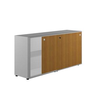 Мебель для персонала Шкаф низкий, двери-купе за 58 575 руб