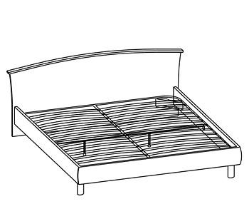 Кровати Кровать двуспальная за 15 478 руб