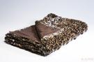 Blanket Fur Leo Dark 152x127cm