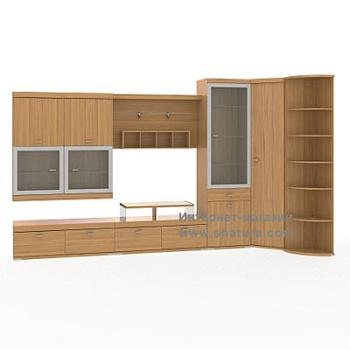 Гостиные RIVA вишня за 46 440 руб