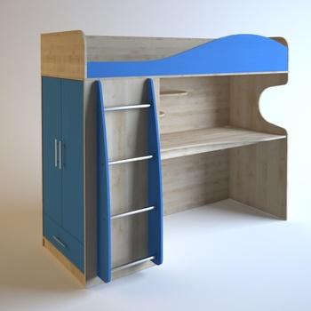 Корпусная мебель Детский мебельный комплект ДМ-01 за 15 280 руб