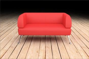 Мягкая офисная мебель Диван Калипсо за 15 400 руб