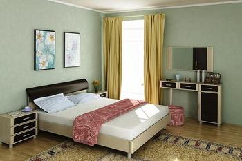 Спальни Спальня модульная КАМЕЛИЯ за 9 891 руб