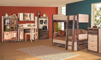 Корпусная мебель Подростковая модульная система КОЛУМБ за 9 550 руб