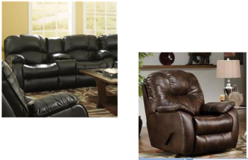 Комплекты мягкой мебели Мягкая мебель «СONTINENTAL» за 230 600 руб