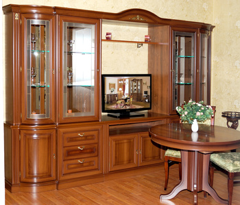 Шкафы для гостиной Мальта 2735 Шкаф для посуды 3-х дверный за 64 990 руб