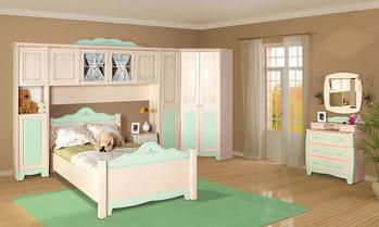 Корпусная мебель Детская модульная система для девочек АССОЛЬ за 9 550 руб