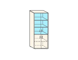 Кабинет/Библиотека Шкаф узкий со стеклом за 3 760 руб