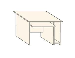 Кабинет/Библиотека Стол приставной компьютерный за 1 770 руб