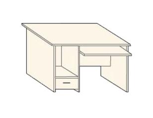 Кабинет/Библиотека Стол компьютерный 1200 L за 3 280 руб