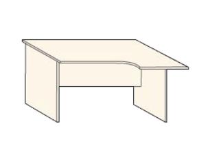 Кабинет/Библиотека Стол криволинейный R за 2 900 руб