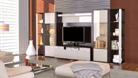 Корпусная мебель Гостиная модульная ЛАККИ за 3440.0 руб