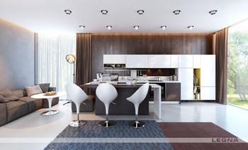 Кухонные гарнитуры Венге-Кристалл за 35 900 руб