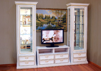 Шкафы для гостиной Верона 2872 шкаф для посуды однодверный за 37 414 руб